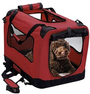 2pet Foldable, Soft Dog Crate