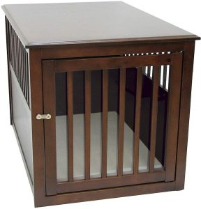Crown Pet Products Wooden Pet Crate