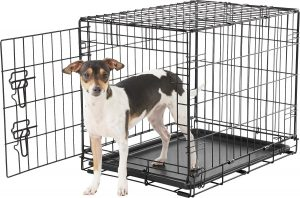 Frisco Fold & Carry Single Door Dog Crate