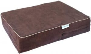 Go Pet Club Solid Memory Foam Orthopedic Pet Bed
