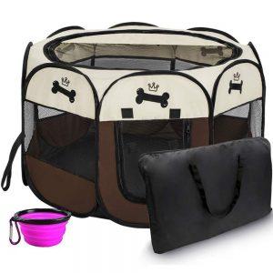 Hepeng Pet Playpen Tent Kennel