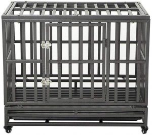 Luckup Heavy Duty Dog Kennel And Crate