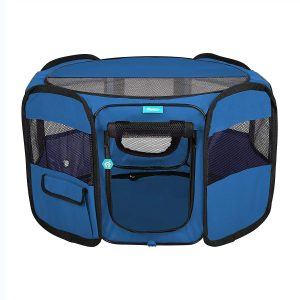 Pawdle Deluxe Premium Foldable Portable Traveling Exercise Pet Playpen