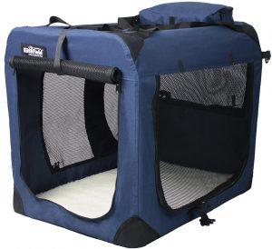 EliteField 3-Door Folding Soft Dog Crate Product Image