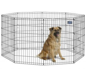 MidWest Homes for Pets Foldable Metal Exercise Pen Product Image