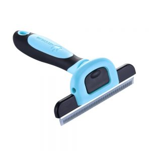 MIU Color Pet Deshedding Tool And Grooming Brush For Dogs And Cats Product IMage