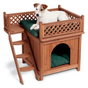 Merry Products Wood Pet Home- Room With A View product image