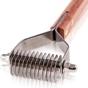 PawsPamper Undercoat Rake for Small to Medium Dogs, and Cats Product Image