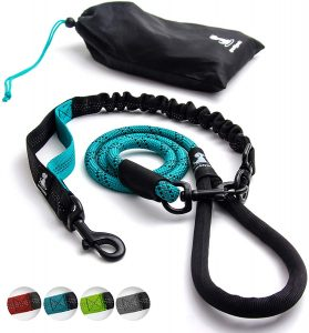 Sparklypets Heavy Duty Rope Bungee Leash