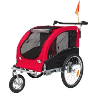 Best Choice Products 2 In 1 Pet Stroller And Trailer With Hitch Product Image
