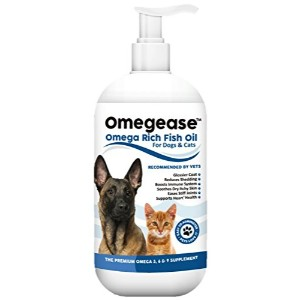 Finest For Pets 100 Pure Omega 3, 6 9 Fish Oil For Dogs And Cats Product Image