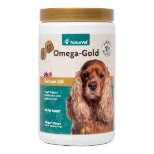 Naturvet Omega Gold Plus Salmon Oil For Dogs Product Image