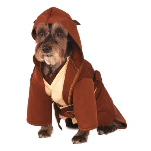 Rubies Costume Company Star Wars Classic Jedi Robe Pet Costume Product Image