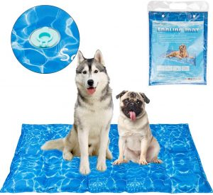 Scenereal Dog Cooling Mat Cool Dog Bed Ice Water Pad For Dogs Cats Pets Summer Hot Days Sleeping