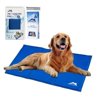Whalek Cooling Mat Pressure Activated Chilly Dog Cat Bed Gel Mat Product Image