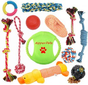 Aipper Dog Puppy Toys 12 Pack