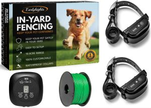 Earlyhights Underground Electric Outdoor Dog Containment Fence System