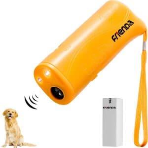 Frienda Led Ultrasonic Dog Repeller And Trainer Device