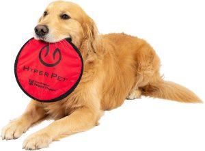Hyper Pet Flippy Flopper Dog Frisbee Interactive Dog Toys