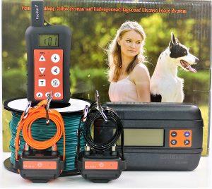 Koolkani Remote Dog Training Electronic Containment Fence Boundary System Combo