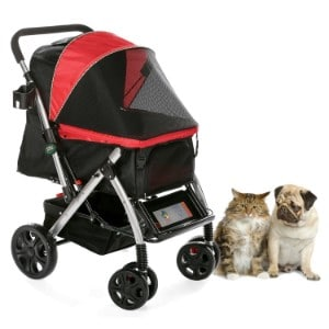 Hpz Pet Rover Premium Heavy Duty Dog Cat Pet Stroller Product Image