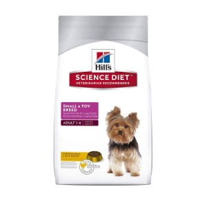 Hill's Science Diet Small & Toy Breed Dry Dog Food Product Image