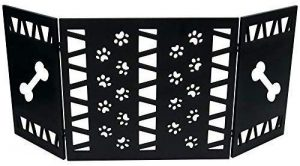 Hoovy Freestanding Decorative Pet Gate