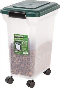 Iris Remington Dog Food Container