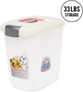 Lazy Buddy Pet Food Storage Container