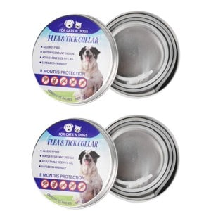 Maxtry Flea And Tick Control Adjustable Waterproof Collar Protect For Dogs Product Image