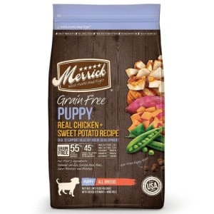 Merrick Grain Free Puppy Recipe Dry Dog Food Product Image