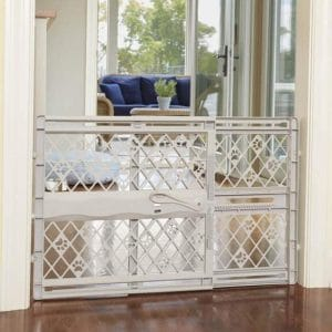 North States Mypet Paws 42 Portable Pet Gate