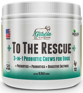 Probiotics For Dog Gracie To The Rescue