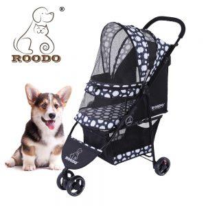 Poussettes pour animaux de compagnie à 3 roues Roodo Escort