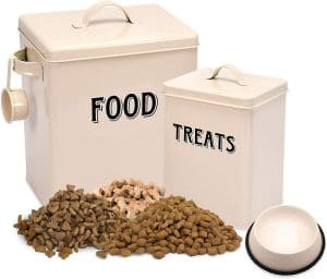 Silky Road Pet Food And Treats Containers