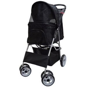 Vivo Four Wheel Pet Stroller Product Image