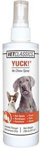 Vet Classics Yuck No Chew Spray