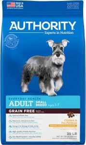 Authority Grain Free Chicken & Pea Formula Adult Dry Dog Food