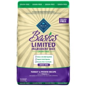 Blue Buffalo Basics Limited Ingredient Diet, Grain Free Natural Adult Dry Dog Food Product Image