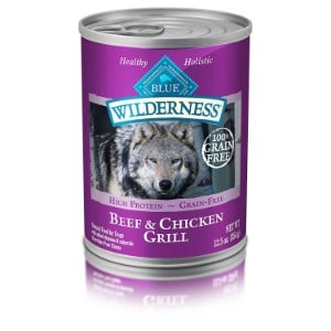 Blue Buffalo Blue Wilderness Duck & Chicken Grill Canned Dog Food Product Image