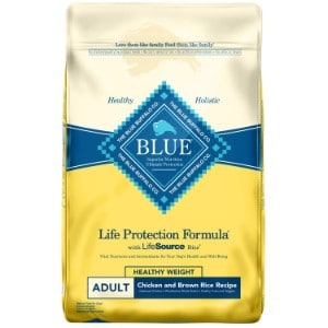 Blue Buffalo Life Protection Formula Natural Adult Healthy Weight Dry Dog Food Product Image