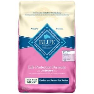 Blue Buffalo Life Protection Formula Natural Adult Small Breed Dry Dog Food Product Image
