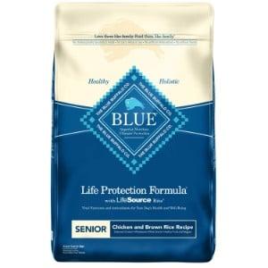 Blue Buffalo Life Protection Formula Natural Senior Dry Dog Food Product Image
