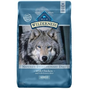 Blue Buffalo Wilderness High Protein Grain Free, Natural Adult Dry Dog Food Product Image