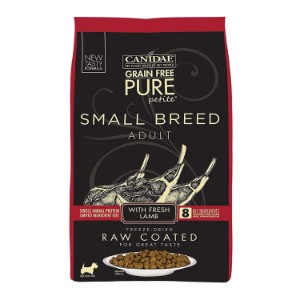 Canidae Grain Free Pure Petite Small Breed Raw Coated Dry Dog Food Product Image