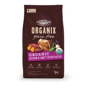 Castor & Pollux Organix Grain Free Organic Chicken & Sweet Potato Recipe Dry Dog Food Product Image