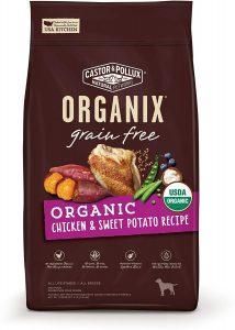 Castor & Pollux Organix Grain Free Organic Dry Dog Food