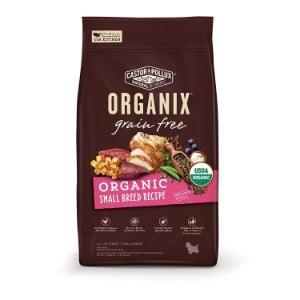 Castor & Pollux Organix Grain Free Organic Small Breed Recipe Recipe Dry Dog Food Product Image