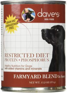 Dave's Pet Food Dog Food Restricted Bland Diet