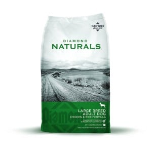 Diamond Naturals Adult Large Breed Real Meat Recipe Premium Dry Dog Food Product Image